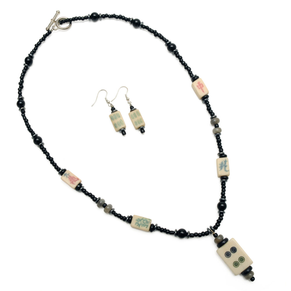 Mah Jongg Jewelry Set