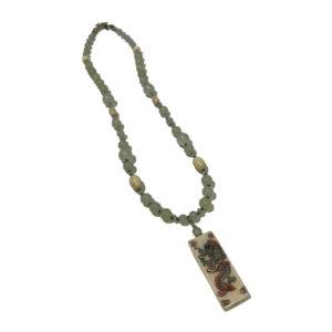 Ileen Sirota Jade Dragon Necklace