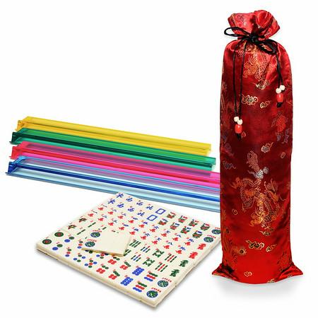 mah jongg travel set standard width tiles and racks where the winds blow