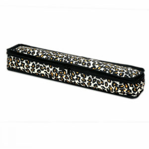 Leopard Mah Jongg Tile Pouch