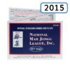 2015 National Mah Jongg League Card