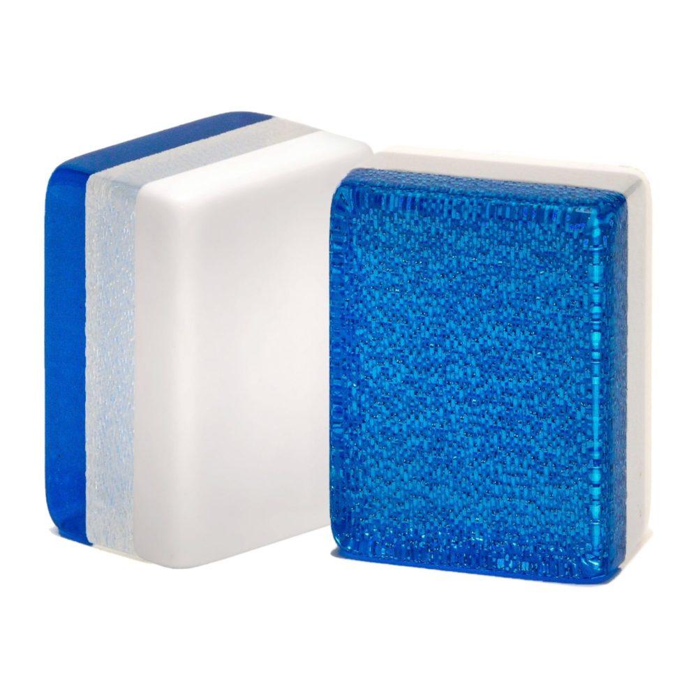 Blue Glitter American Mah Jongg Tiles