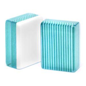 Turquoise Stripe American Mah Jongg Tiles
