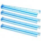 Set of 4 Combo Racks - Clear Blue