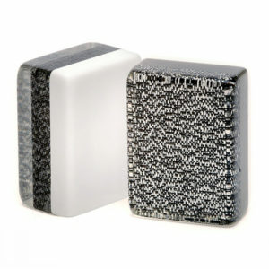 Silver and Black Glitter American Mah Jongg Tiles