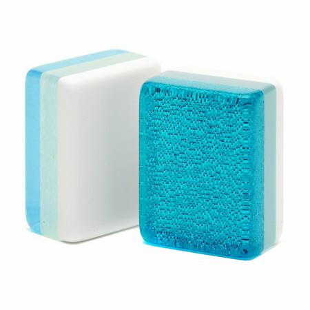 American Mah Jongg Tiles - Turquoise Glitter