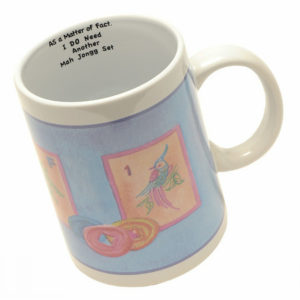 Whimsical Mah Jongg Mugs