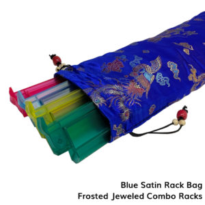 Mah Jongg Satin Rack Bag