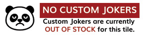 no custom jokers