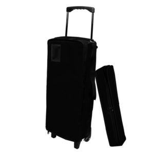 Mah Jongg Case on Wheels - Black