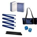 Blue Checkered Special Value Mah Jongg Set