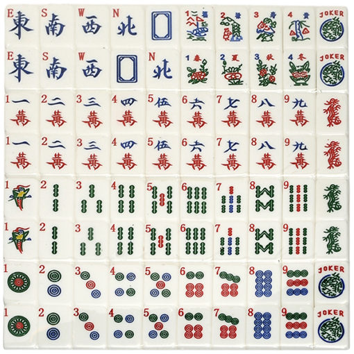 Artrageous Mah Jongg Tiles
