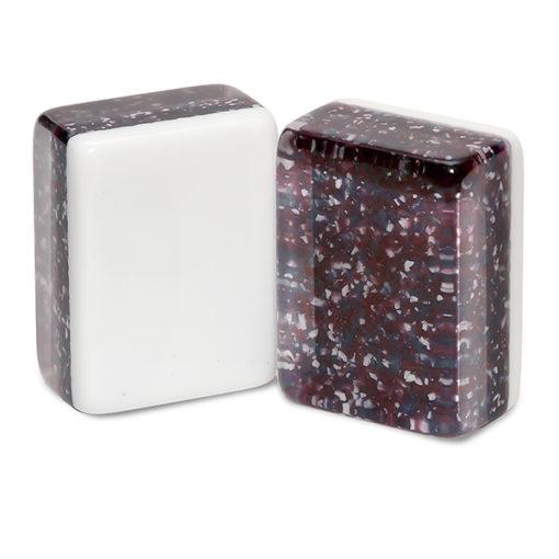 Plum Confetti Mah Jongg Tiles