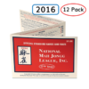 National Mah Jongg League Cards 12 Pack 2016