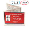 National Mah Jongg League Cards 4 Pack 2016