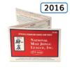 2016 National Mah Jongg League Card