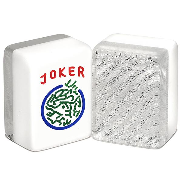 Silver Jumbo Glitter American Mah Jongg Tiles