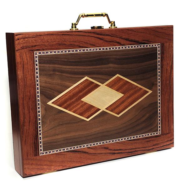Jumbo Asian Buttercup Mahjong Tiles In A Wood Box Where