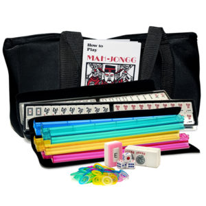 Basic American Mah Jongg Set - Black