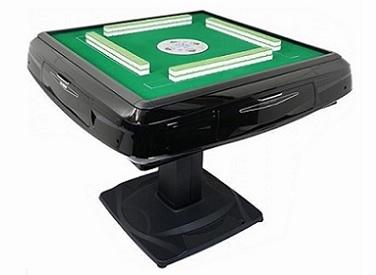 black contermporary mahjong table automatic