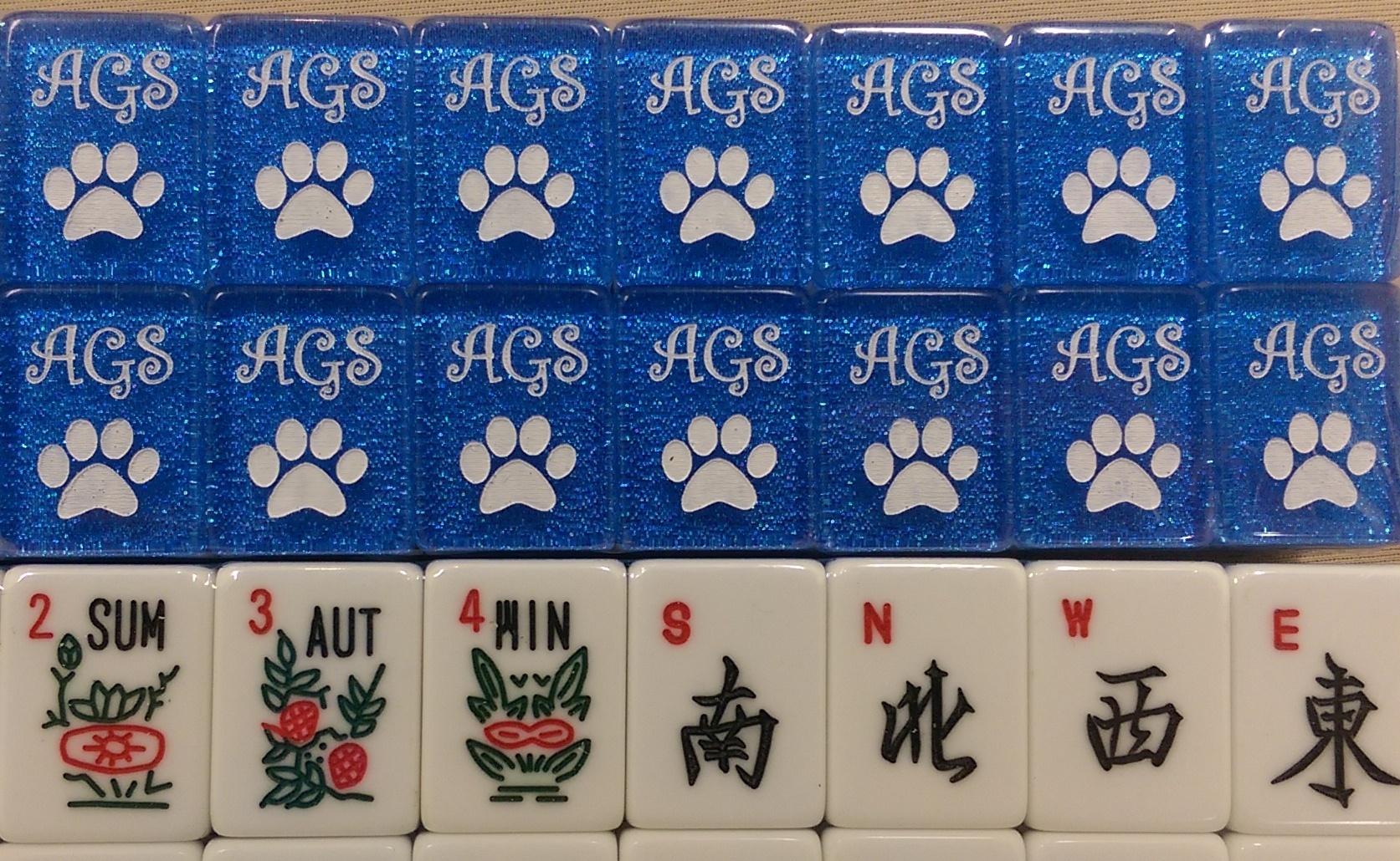Custom Mah Jongg Tiles