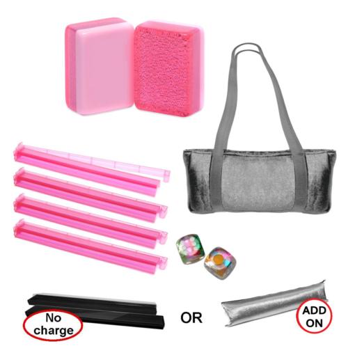 Mah Jongg Set - Pink Glitter