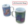 Lot of 36 Assorted Mah Jongg Mugs