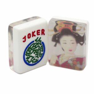 Geisha-Mahjongg tiles