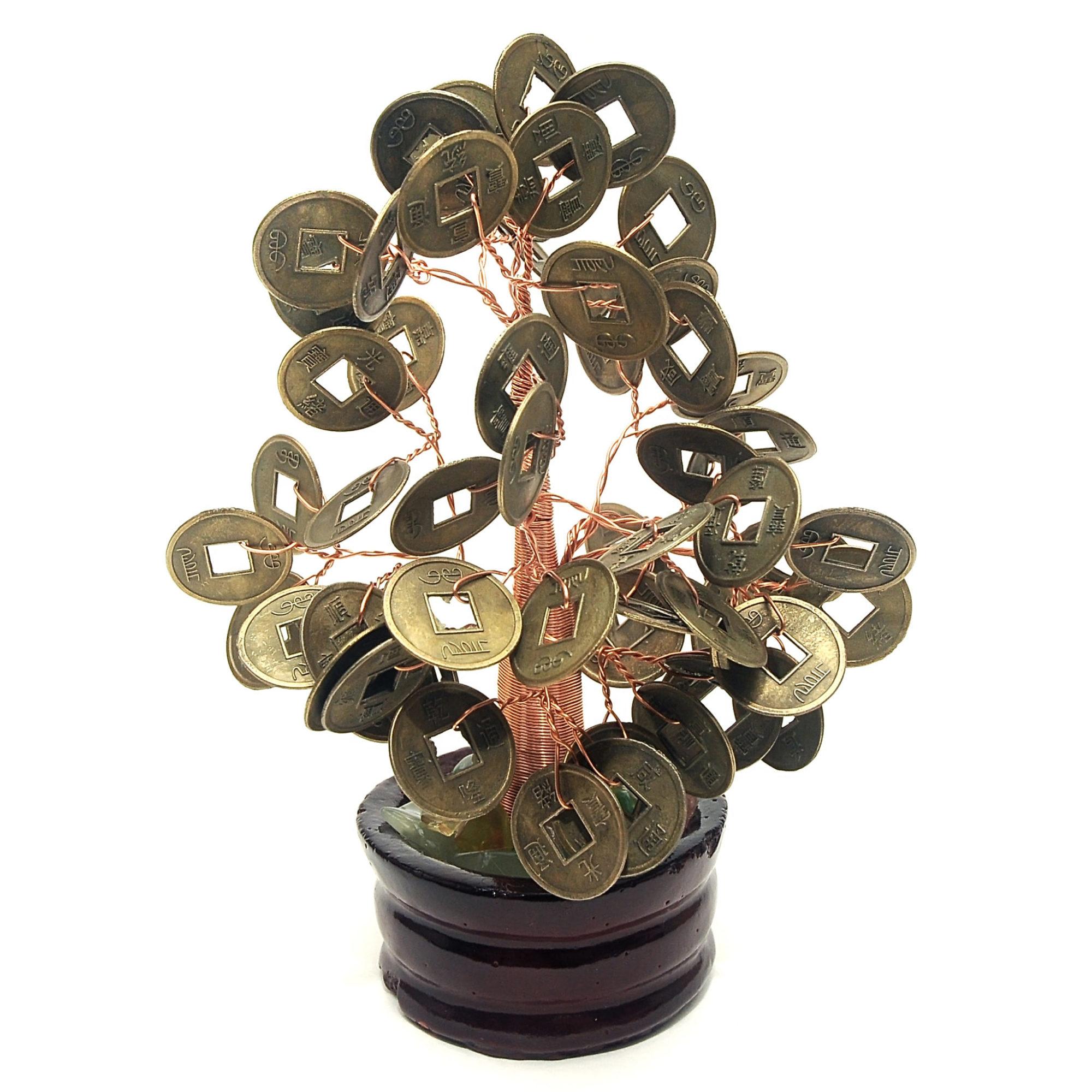 Mah Jongg Counting Coins Money Tree - Great Gift!