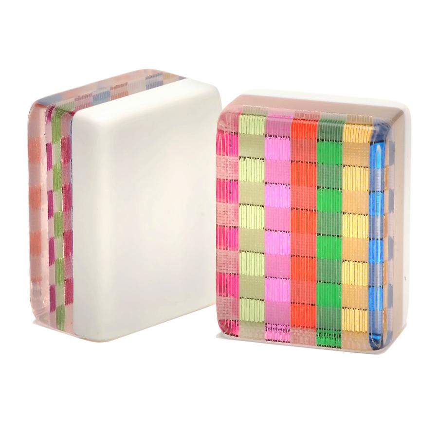 Rainbow American Mah Jongg Tiles