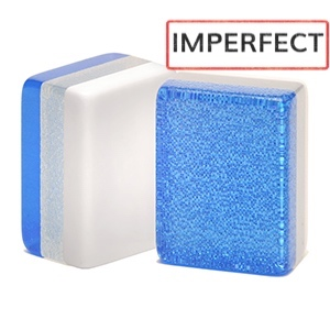 Blue Glitter Imperfect