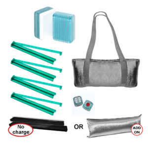 Mah Jongg Set - Turquoise Stripe Special Value Set
