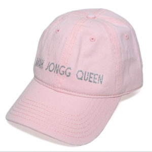 Mah Jongg Queen Bling Hat