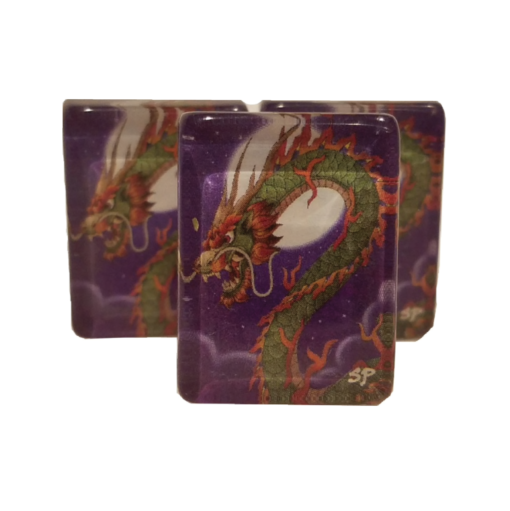 Dragon American Mah Jongg Tiles