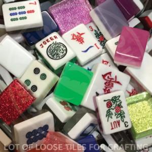 Mah Jongg Tiles for Crafting