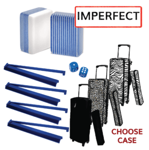 Clearance Mah Jongg Set - Blue Stripe