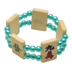 Mah Jongg Tile Bracelet - Turquoise