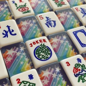 American Mah Jongg Tiles - Limited Edition Rainbow Star Tiles