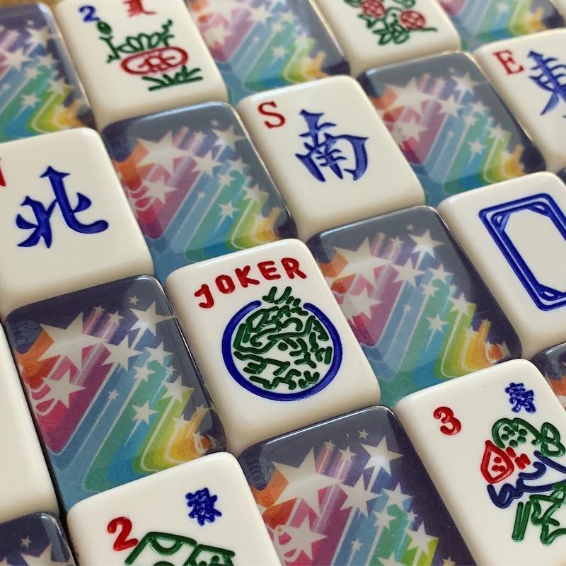American Mah Jongg Tiles - Limited Edition Rainbow Star Tiles
