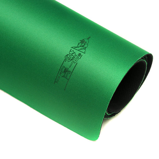 Green Rubber Mah Jongg Mat Table Cover