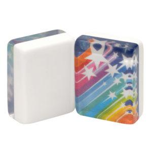 American Mah Jongg Tiles - Rainbow Shooting Stars