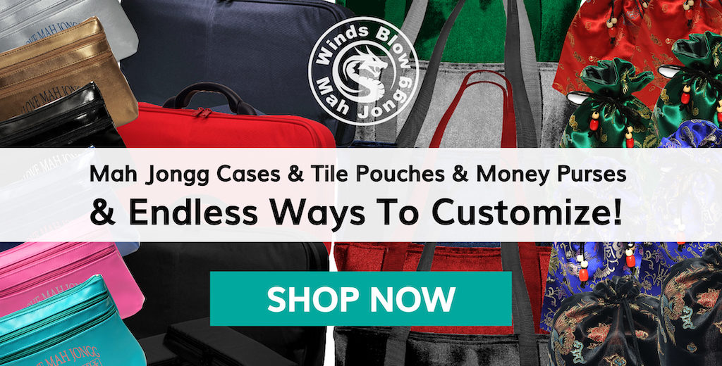 Shop Mah Jongg Cases, Bags, and Money Purses at Where The Winds Blow