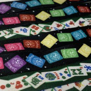 American Mah Jongg Tiles Reversible Lanyard