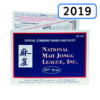 2019 National Mah Jongg League Card - NMJL - Where The Winds Blow Man Jongg