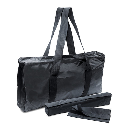Black Nylon Mah Jongg Travel Bag