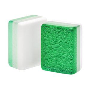 Kelly Green Glitter American Mah Jongg Tiles