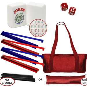 American Mah Jongg Set - EZ Reader - Patriotic USA Mah Jongg Set