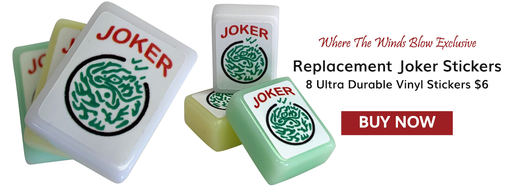 Mah Jongg TIle Joker Replacement Stickers