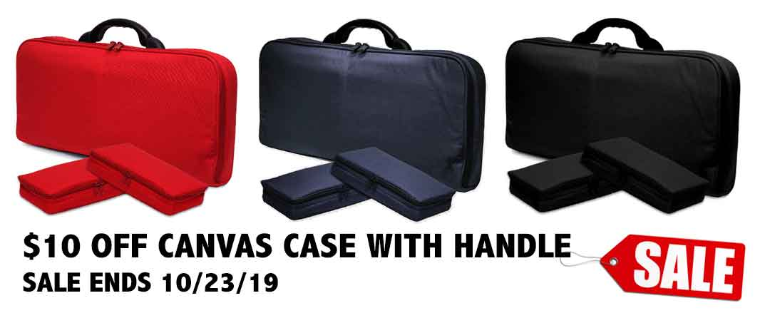 $10 Off Case with handle