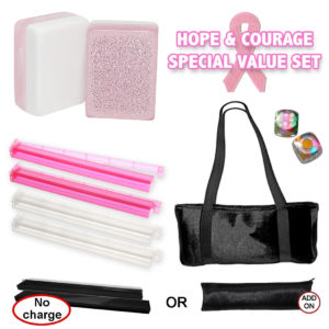 Hope & Courage Breast Cancer Awareness Mah Jongg Set